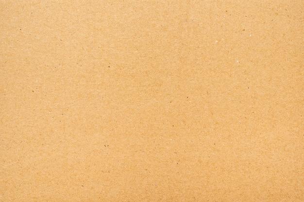 Fond de texture de papier brun ou surface en carton d'une boîte en papier pour l'emballage.