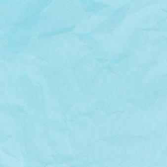Fond de texture de papier couleur ciel froissé