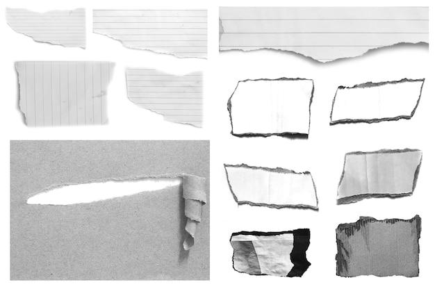 Fond de texture de papier déchiré avec espace de copie pour le texte