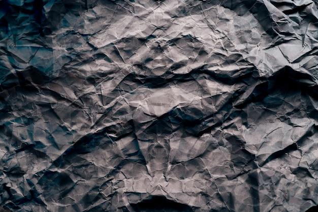 Fond de texture de papier froissé gris