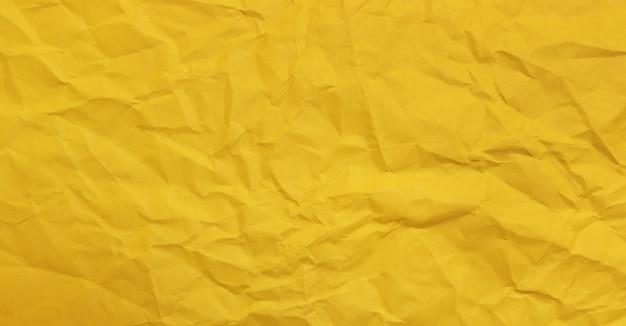 Fond de texture de papier jaune agglutiné, papier kraft horizontal avec un design unique de papier, style de papier naturel pour un design créatif esthétique