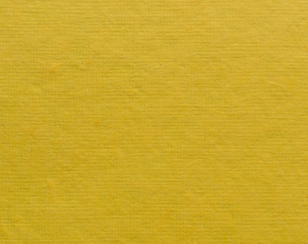 Fond de texture de papier jaune