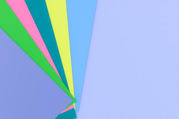 Fond de texture de papier multicolore