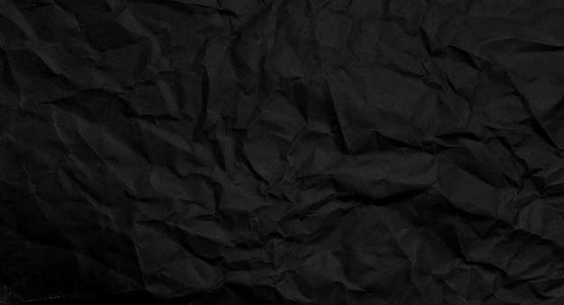 Fond de texture de papier noir agglutiné, papier kraft horizontal avec un design unique de papier, style de papier naturel pour un design créatif esthétique
