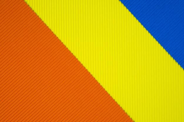 Fond de texture de papier ondulé multicolore.