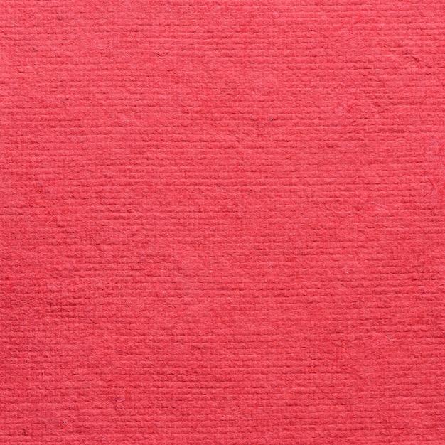 Fond de texture de papier rouge