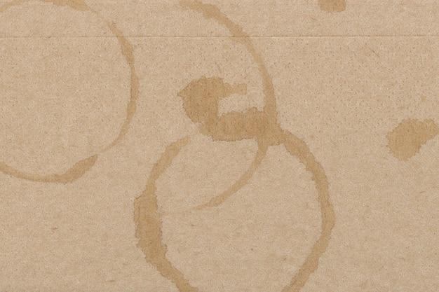 Fond texturé de papier taché de l'espace de conception