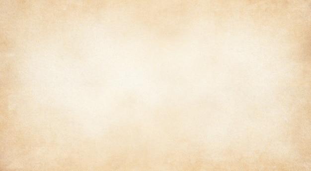 Fond de texture de papier vintage marron pâle, papier kraft horizontal avec un design unique de papier, style de papier naturel doux pour un design créatif esthétique