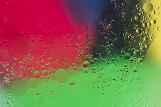 Fond texturé peint avec motif à bulles