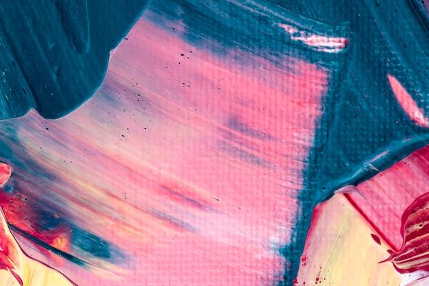 Fond texturé de peinture acrylique dans l'art créatif de style abstrait rose