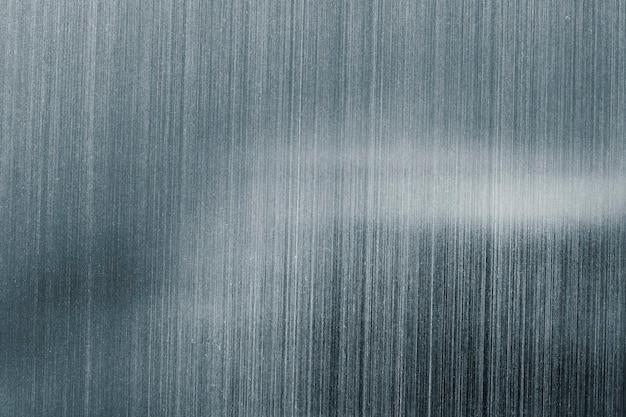 Fond texturé de peinture argent bleuté métallique