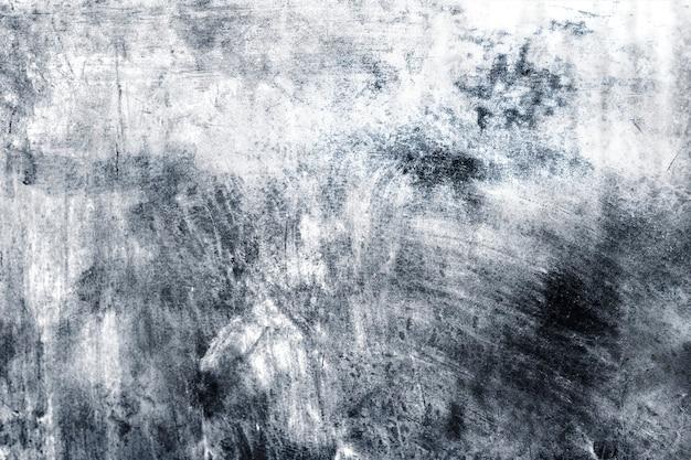 Fond texturé de peinture argentée rustique