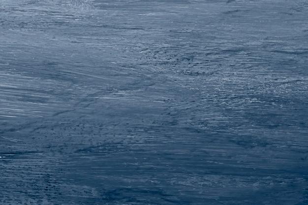 Fond texturé de peinture bleue abstraite