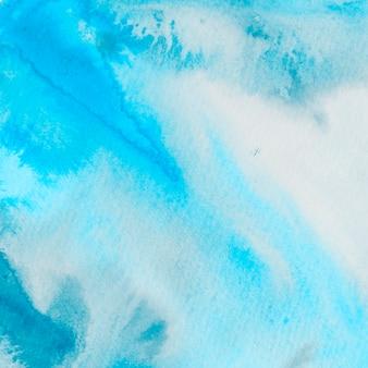 Fond texturé de peinture bleue