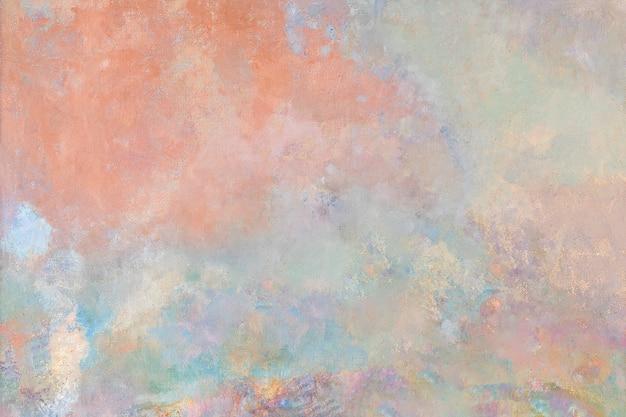 Fond texturé de peinture à l'huile abstraite