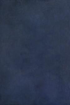 Fond texturé de peinture à l'huile bleu marine