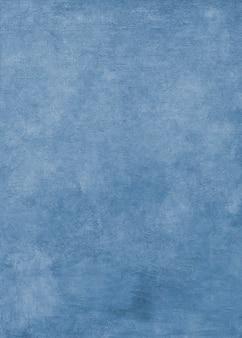 Fond texturé de peinture à l'huile bleue
