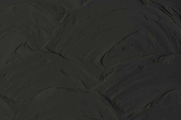 Fond texturé de peinture murale noire