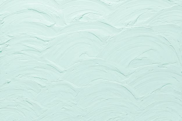 Fond texturé de peinture murale turquoise