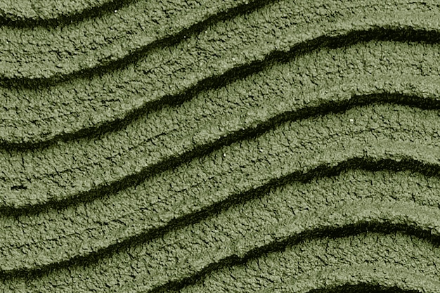 Fond texturé de peinture murale verte mousse