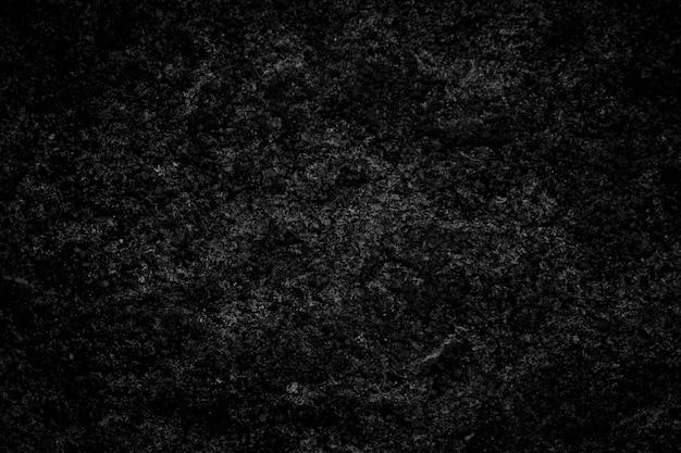Fond de texture de pierre noire ciment foncé, grunge, béton avec mur de fond noir blanc motif marbre pour un joli design
