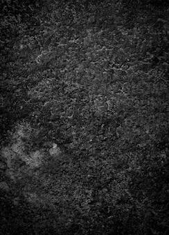 Fond de texture de pierre noire ciment sombre grunge béton texture de marbre mur de fond noir