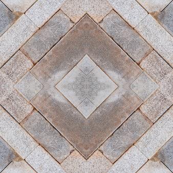Fond texturé pierres de brique carrée