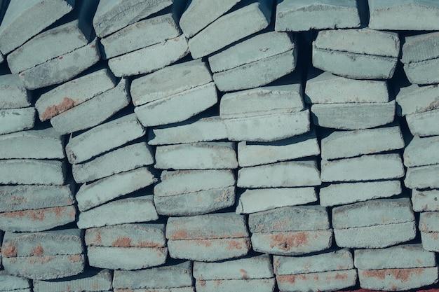 Fond de texture de pierres de construction empilées