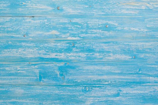 Fond de texture de planche de bois bleu. style campagnard.