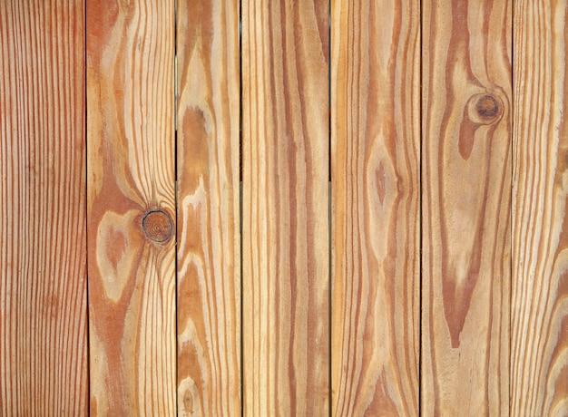 Fond de texture de planche de bois brun.