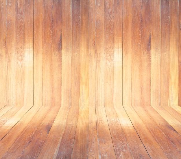 Fond de texture de planche de bois brun