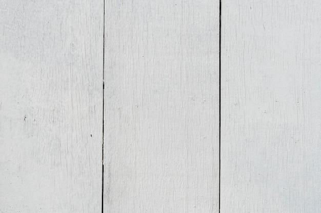 Fond texturé de planches de bois blanc uni