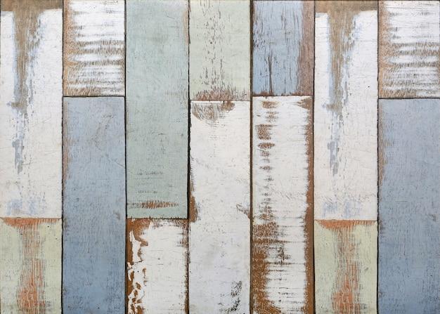 Fond de texture de planches de bois pastel