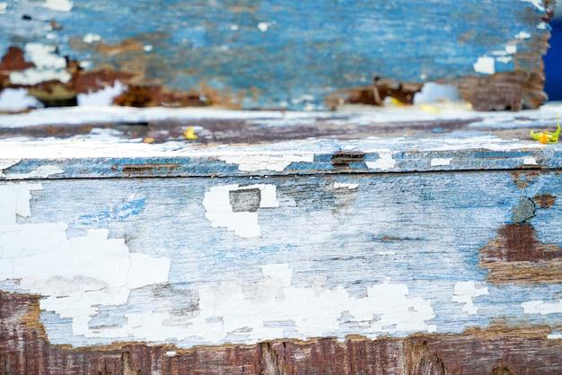 Fond de texture de planches de bois vieux & rustique