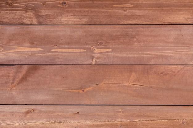 Fond de texture de pont de planches de bois horizontales.