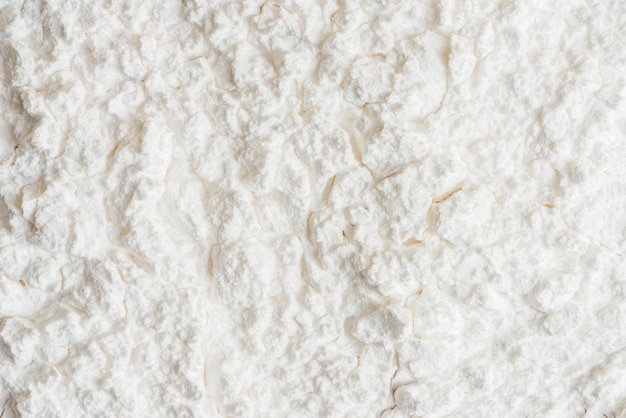 Fond de texture poudre blanche unie