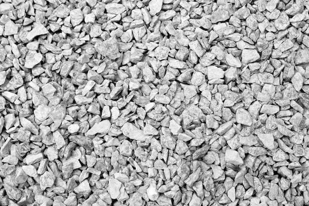 Fond de texture de roche noir et blanc se bouchent