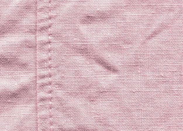Fond de texture rose en tissu