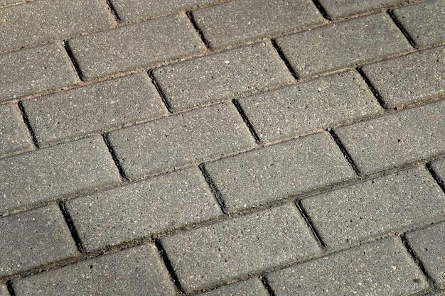 Fond de texture de route de chaussée en pierre grise