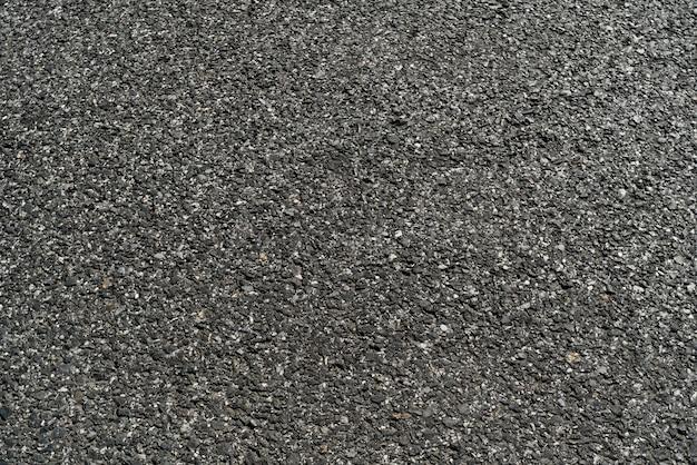 Fond de texture de route goudronnée asphalte noir