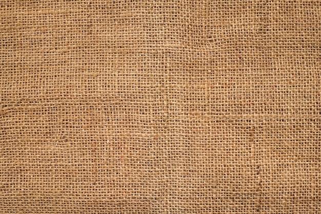 Fond de texture de sac marron.