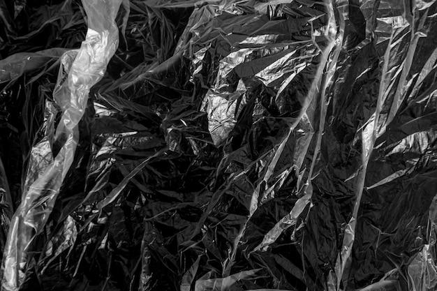 Fond de texture de sac en plastique, fond de film plastique