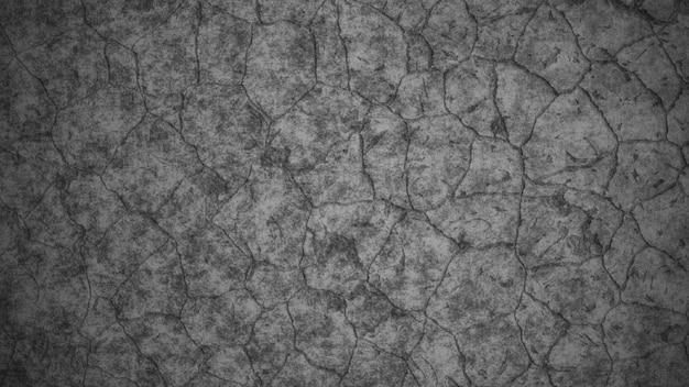 Fond de texture de sol en béton fissuré. illustration 3d