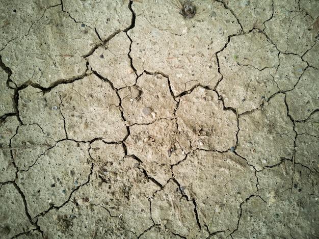Fond de texture de sol séché