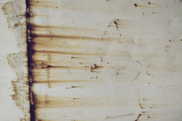 Fond de texture de surface en métal rouillé