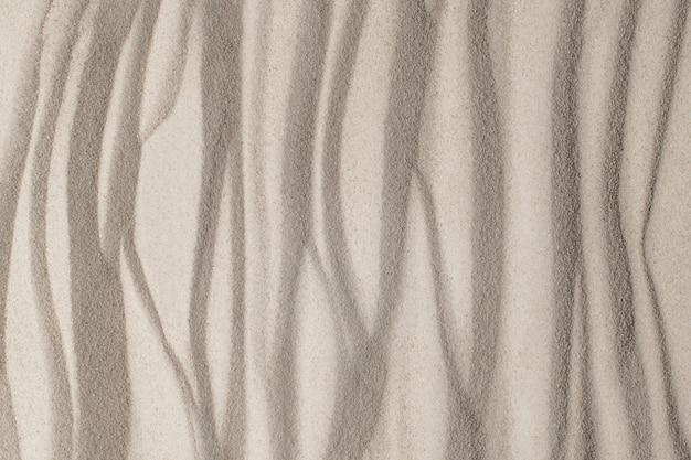 Fond de texture de surface de sable dans le concept de bien-être