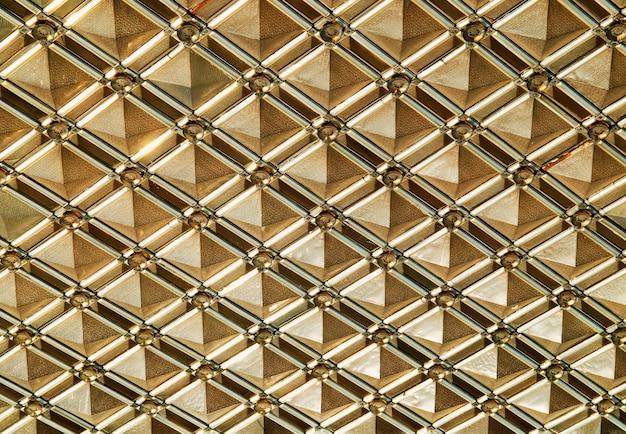 Fond de texture symétrique motif doré hd