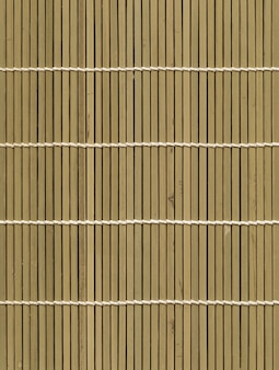 Fond de texture de tapis de bambou léger asiatique