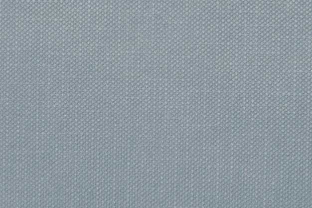 Fond texturé textile gaufré gris bleuté