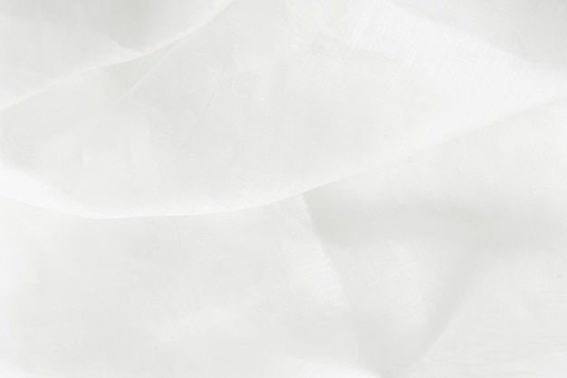Fond texturé textile lin blanc